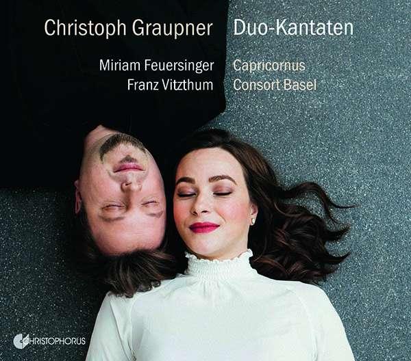 Aktuelle CD: Graupner Duo-Kantaten
